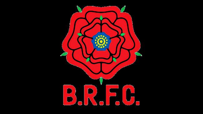 Blackburn Rovers Logotipo 1974-1989