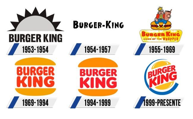 Burger King Logo Historia