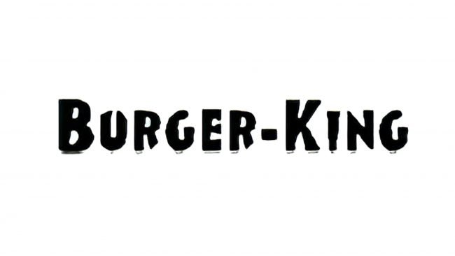 Burger King Logotipo 1954-1957