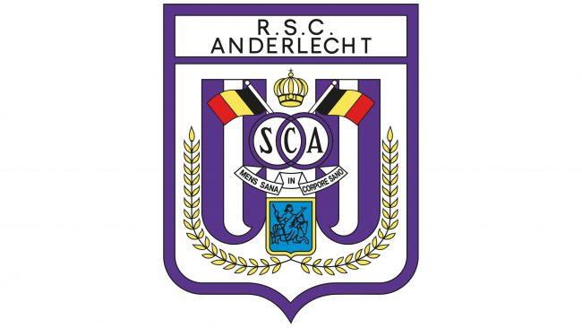 Anderlecht Logotipo 1981-1989