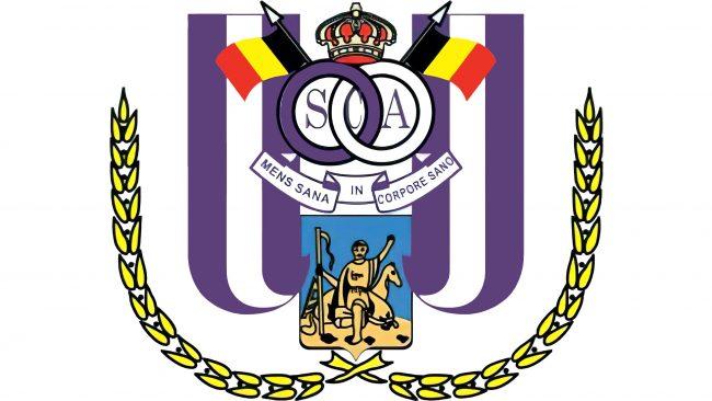 Anderlecht Logotipo 2001-2002