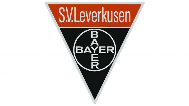 Bayer 04 Leverkusen Logotipo 1948-1965