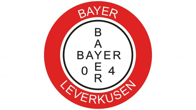 Bayer 04 Leverkusen Logotipo 1965-1970