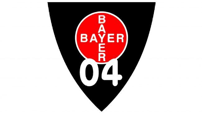 Bayer 04 Leverkusen Logotipo 1970-1976