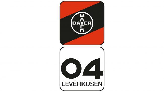 Bayer 04 Leverkusen Logotipo 1976-1984