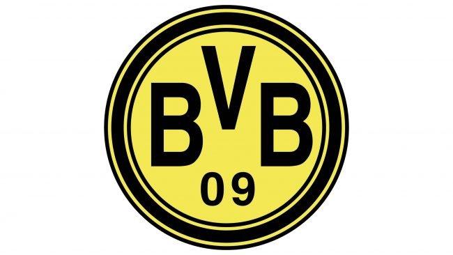 Borussia Dortmund Logotipo 1974-1976