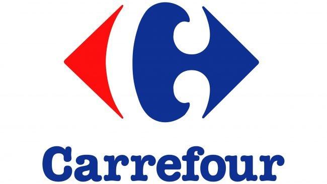 Carrefour Logotipo 1982-2010
