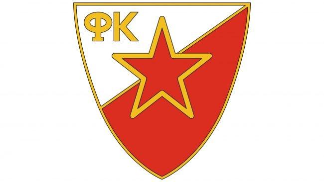 Crvena Zvezda Logotipo 1971-1988