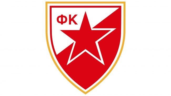Crvena Zvezda Logotipo 1992-1995