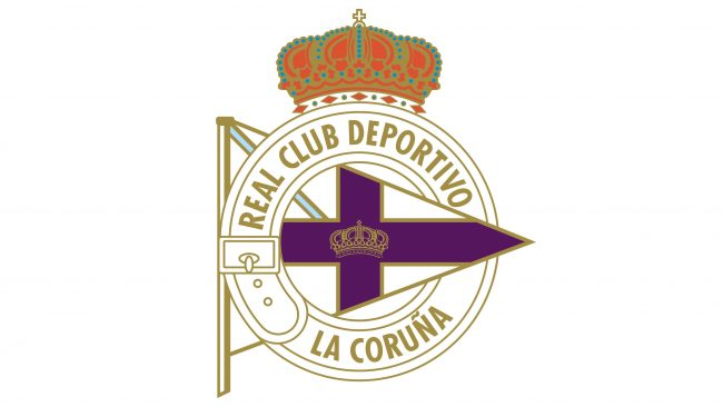 Deportivo La Coruna Logotipo 1912-1928