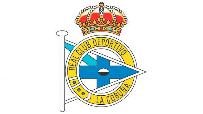 Deportivo La Coruna Logotipo 1955-1962