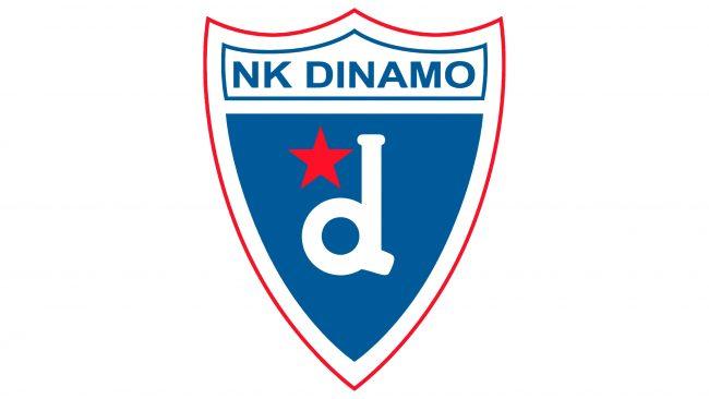 Dynamo Zagreb Logotipo 1982-1988