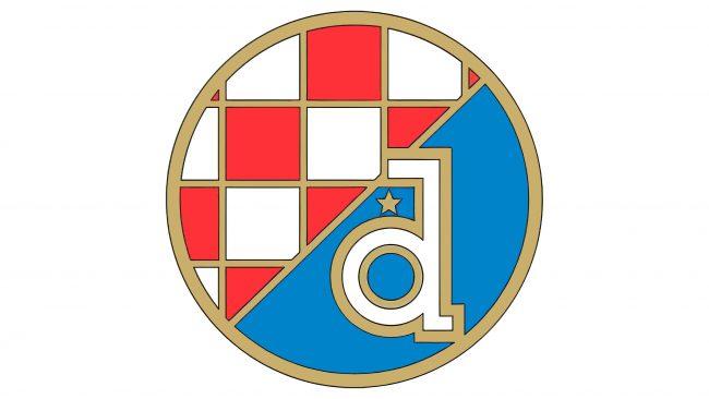 Dynamo Zagreb Logotipo 1988-1990