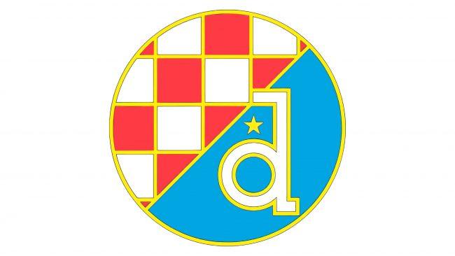 Dynamo Zagreb Logotipo 1990-1991