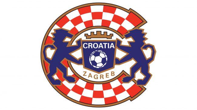 Dynamo Zagreb Logotipo 1993-1995