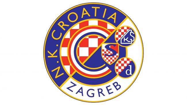 Dynamo Zagreb Logotipo 1995-2000