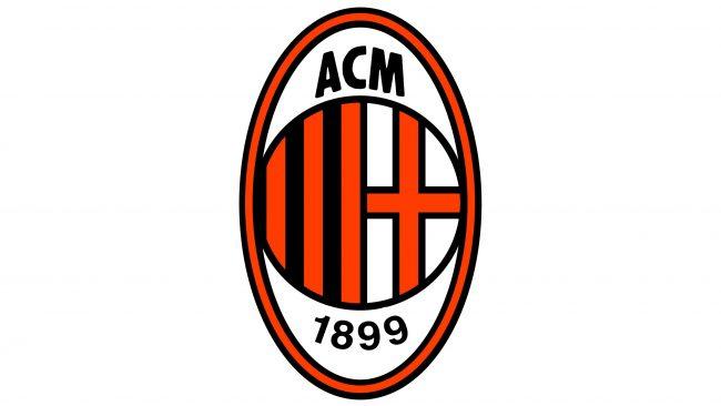 Milan Logotipo 1995-1997