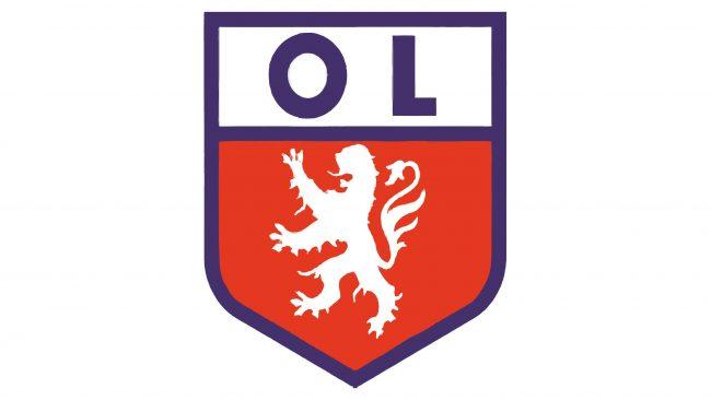 Olympique Lyonnais Logotipo 1957-1965