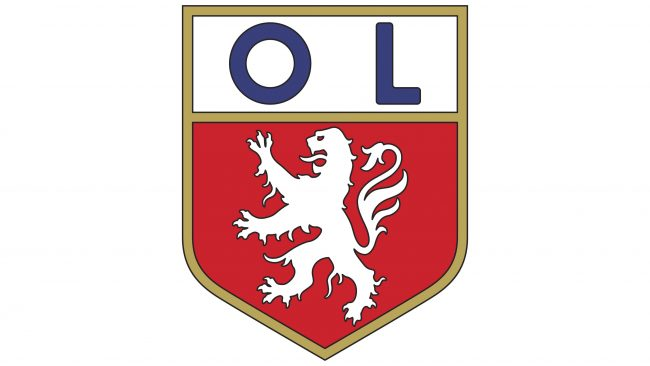 Olympique Lyonnais Logotipo 1965-1974