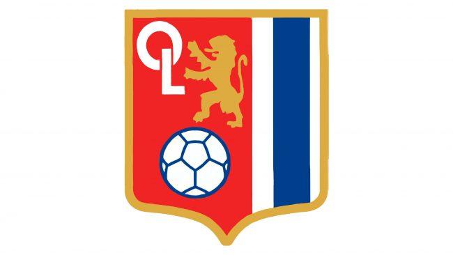 Olympique Lyonnais Logotipo 1974-1976