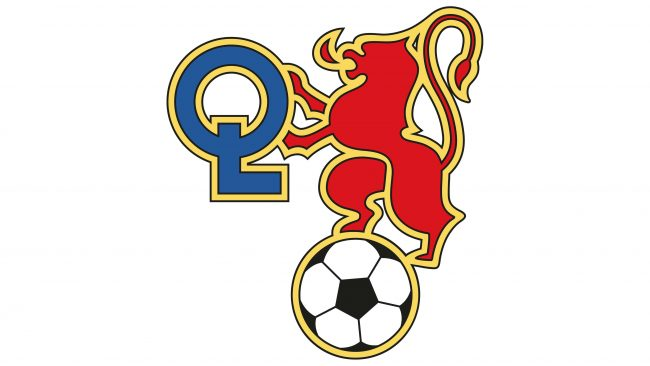 Olympique Lyonnais Logotipo 1977-1980