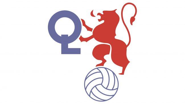 Olympique Lyonnais Logotipo 1980-1989