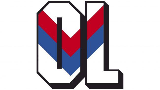 Olympique Lyonnais Logotipo 1989-1996