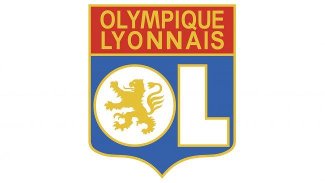 Olympique Lyonnais Logotipo 1996-2000