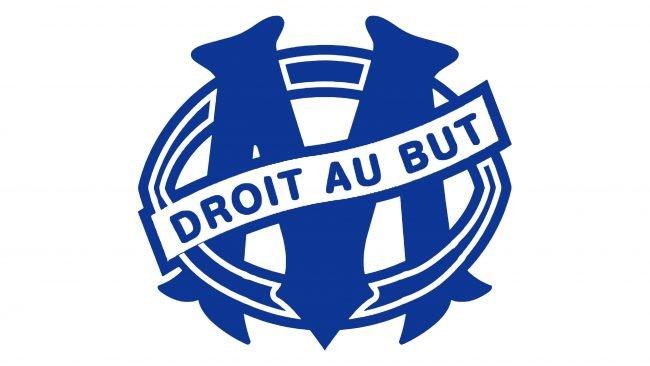 Olympique de Marseille Logotipo 1986-1987