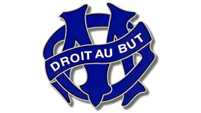 Olympique de Marseille Logotipo 1987-1988