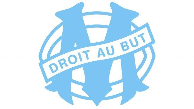 Olympique de Marseille Logotipo 1988-1989