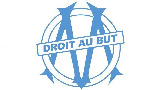 Olympique de Marseille Logotipo 1989-1990