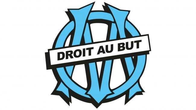 Olympique de Marseille Logotipo 1990-1993