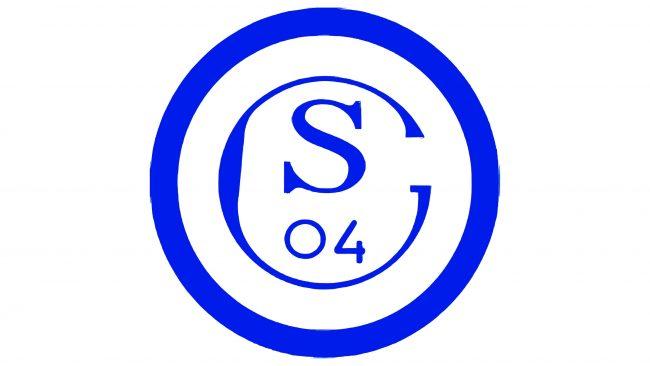 Schalke 04 Logotipo 1945-1958