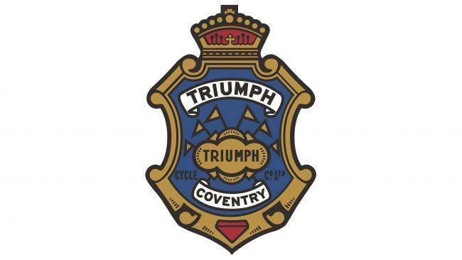 Triumph Logotipo 1923-1931