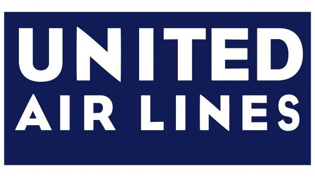 United Airlines Logotipo 1933-1935