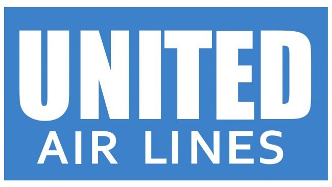 United Airlines Logotipo 1935-1939