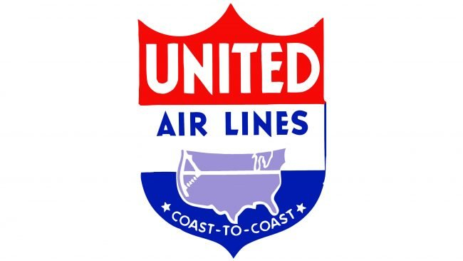 United Airlines Logotipo 1939-1940