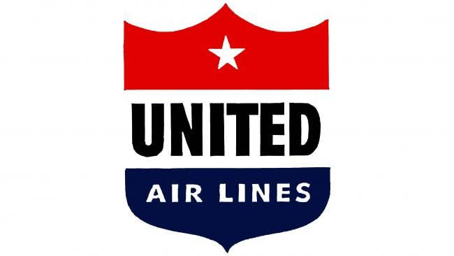 United Airlines Logotipo 1940-1954
