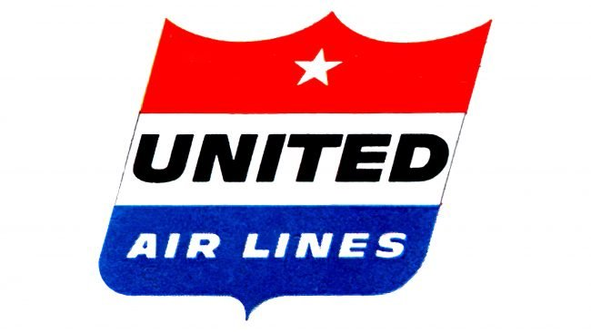 United Airlines Logotipo 1954-1960