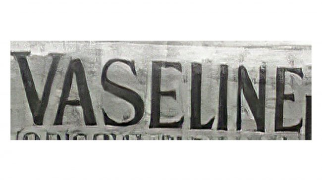 Vaseline Logotipo 1872-1928