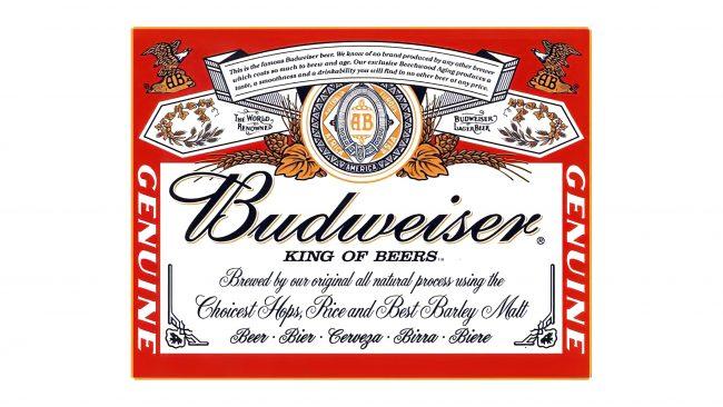 Budweiser Logotipo 1910-1945