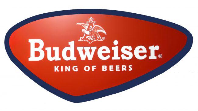 Budweiser Logotipo 1952-1957