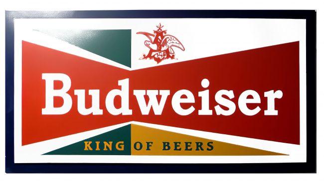 Budweiser Logotipo 1957-1961