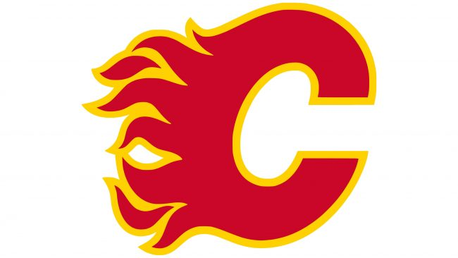 Calgary Flames Logotipo 1980-1994