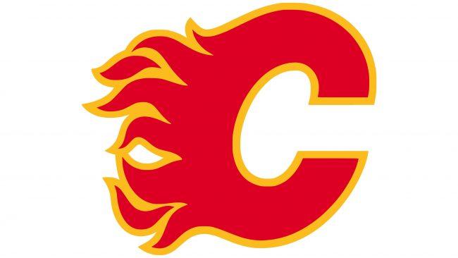 Calgary Flames Logotipo 2020-presente