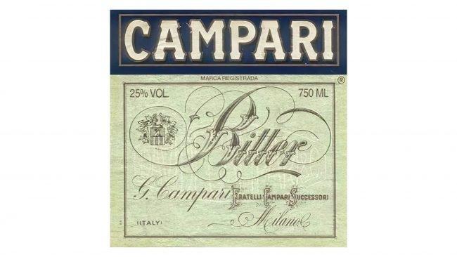 Campari Logotipo 1912-1920