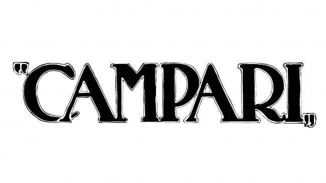 Campari Logotipo 1927-1928