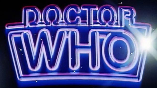 Doctor Who Logotipo 1984-1987