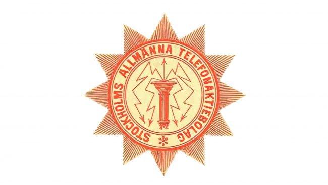 LM Ericsson Logotipo 1883-1918